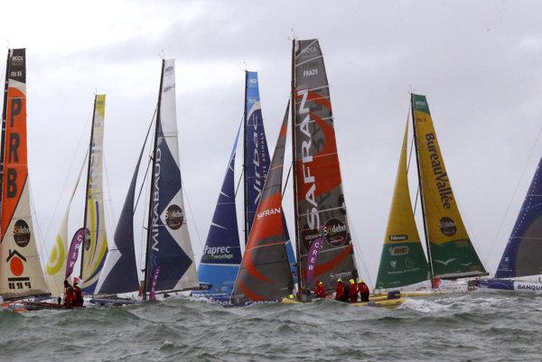 Jachtárske preteky Vendée Globe aptria medzi najťažšie na svete.