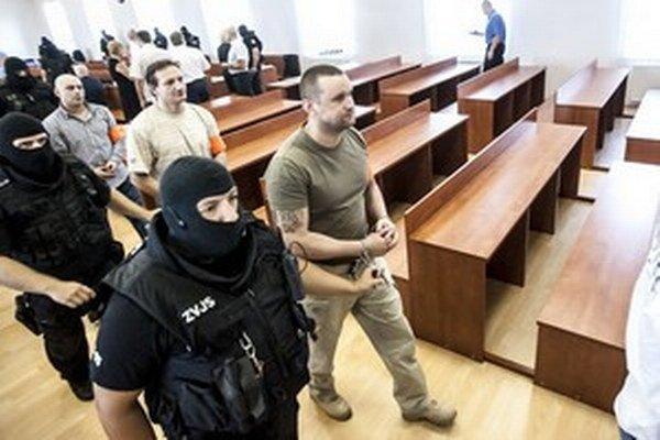 Juraj Ondrejčák, alias Piťo, na súde.