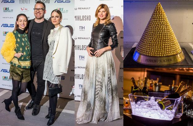 Na prehliadku prišli aj Barbara Heribanová (vľavo) či Soňa Müllerová (vpravo) a stylistka Zuzana Kanisová.