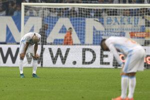 Futbalisti Marseille opäť prehrali.