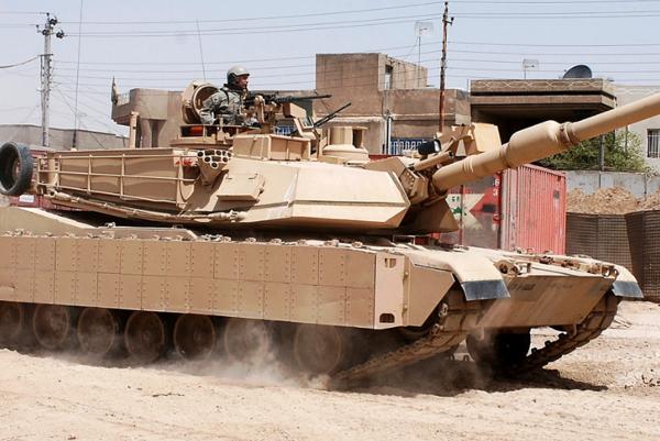 Abrams M1A2.
