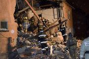 Výbuch plynu - ilustračná fotografia.