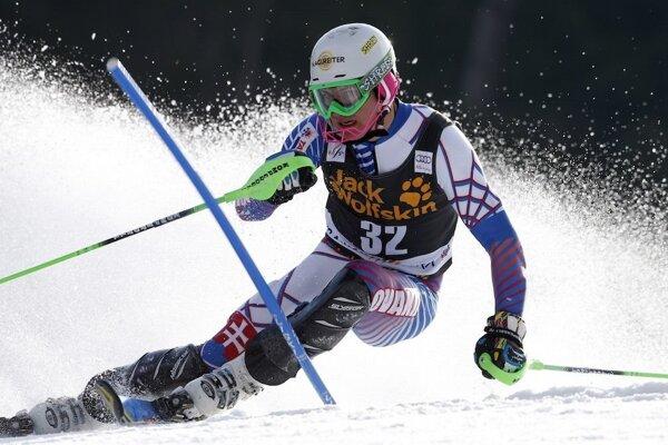 Adam Žampa. Pripravuje sa na slalom SP vo fínskom Levi.
