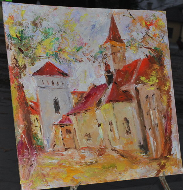 Sabinov. Očami miestneho maliara Jozefa Demka.