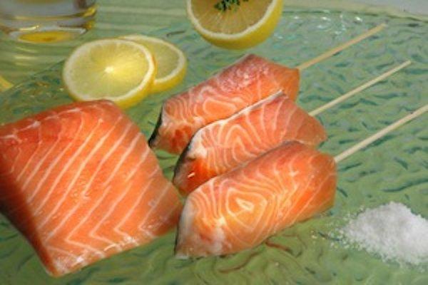 Aj losos patrí k potravinám, ktoré môžu vyvolávať alergiu.