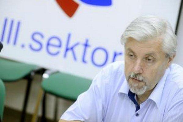 Jozef Behýl zo Stálej konferencie organizácií tretieho sektora.