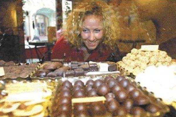 Čokoláda je výborným zdrojom antioxidantov, ktoré chránia bunky pred poškodením a starnutím.ILUSTRAČNÉ FOTO SME - PAVOL MAJER
