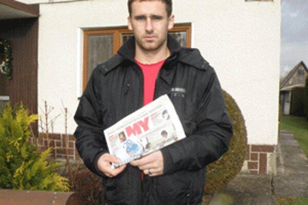 Marek Zvalo si v MY Hornonitrianskych novinách najradšej prečíta šport.