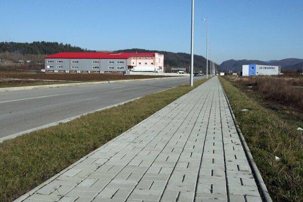 Priemyselný park v Šalkovej chcú dobudovať.