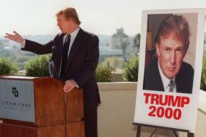 Trumpova prvá kampaň.