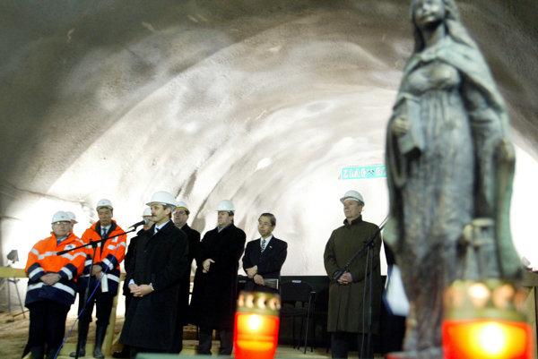 Svätá Barbora je nielen patrónka baníkov, ale aj tých, ktorí hĺbia tunely.