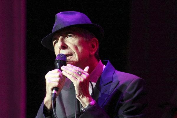 Leonard Cohen v roku 2013.