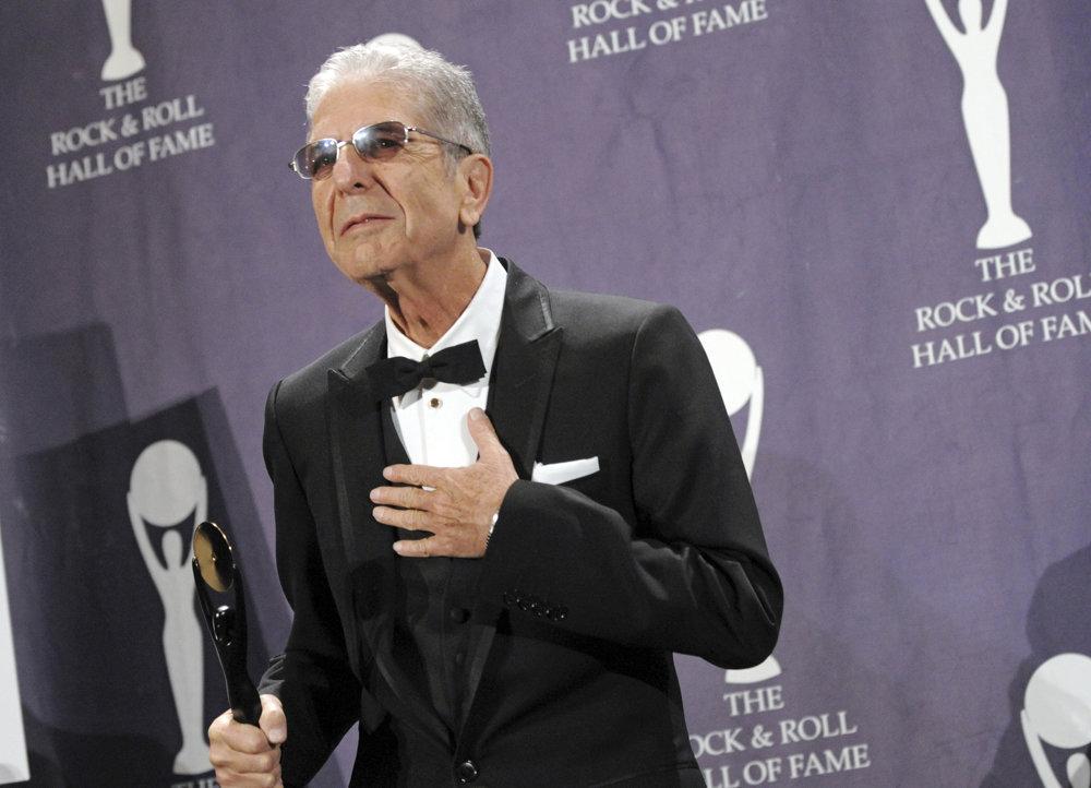 O dva roky neskôr ho uviedli aj do  Rock'n'rollovej siene slávy v New Yorku. FOTO - SITA/AP