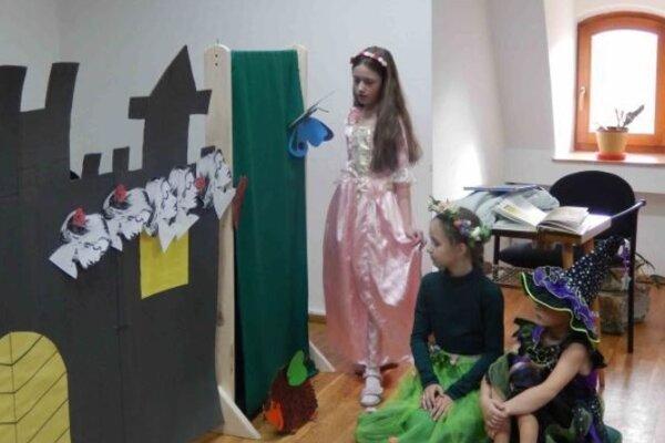 Rozprávka oŠípkovej Ruženke sa deťom páčila.