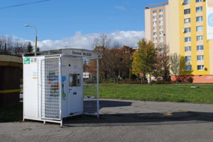 Automat pri Jednote na Sídlisku III.