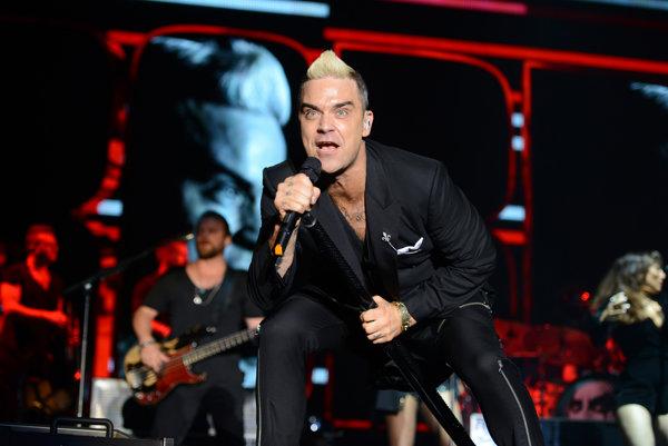 Robbie Williams sa v lete chystá na európske turné. Slovensko síce vynechá, no v Bratislave spieval pred rokom v máji.