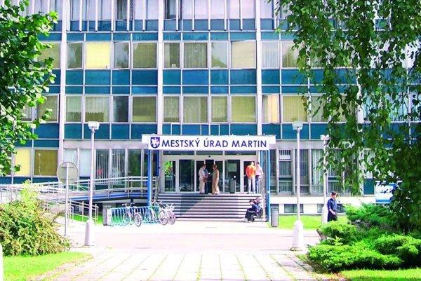 Mestský úrad Martin.