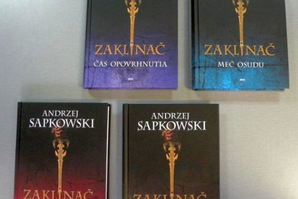 S týždenníkom MY Liptovské noviny môžete vyhrať prvé štyri diely fantasy knihy Zaklínač.