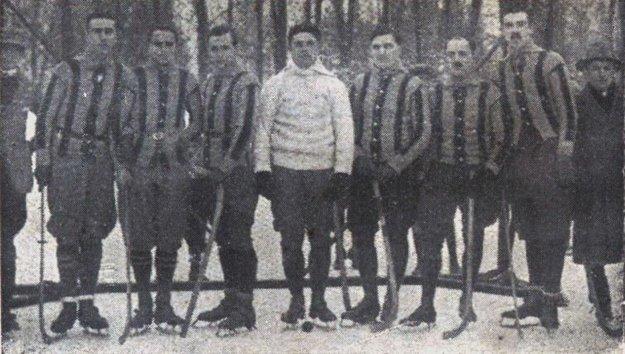 Mužstvo košického KSC (Kassai Sport Club).