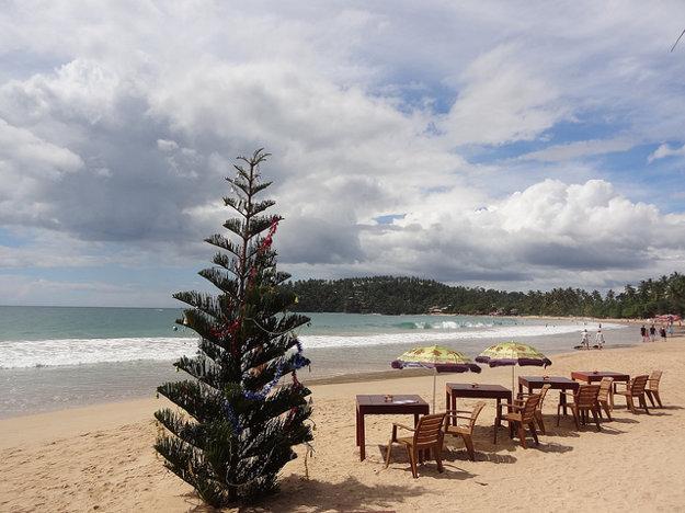 Na Srí Lanke nájdete exotiku aj pokojnú vianočnú atmosféru.