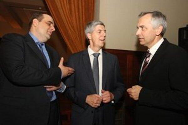Pavol Frešo, Béla Bugár a Ján Figeľ – treba sa dohodnúť v krajoch.