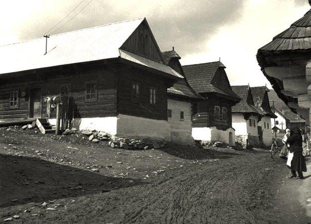 Polomka - rok 1954.