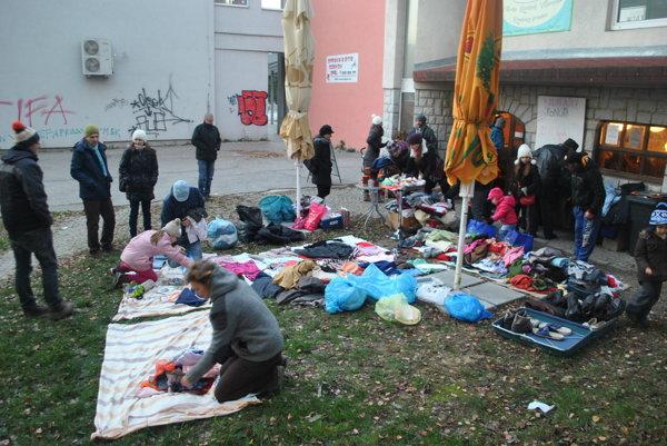 Z minulých rokov v Prešove. Aj takto to vyzeralo, keď nestačili kapacity.