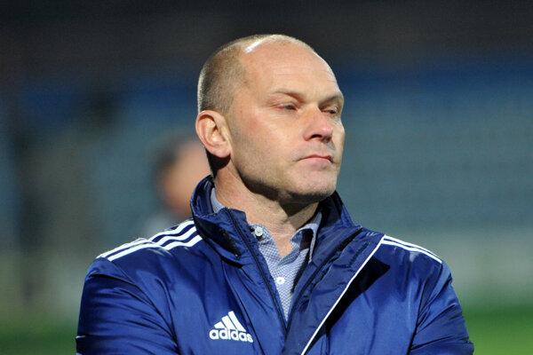 Tréner Anton Šoltis.