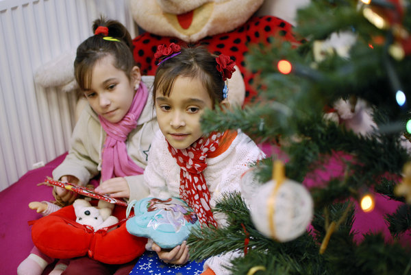 V Ružinove chystajú darčeky pre rodiny v núdzi. ILUSTRAČNÉ FOTO