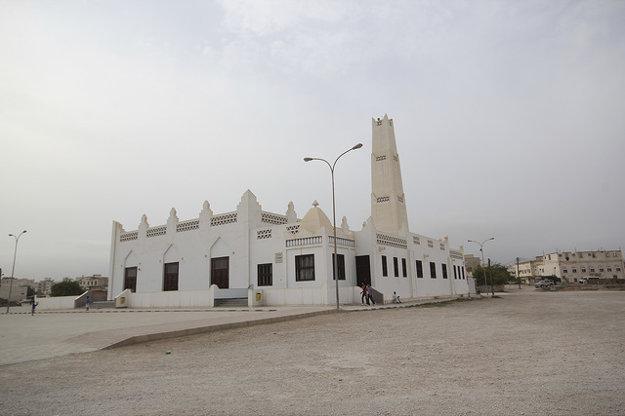 Unikátna Aqeel Mosque v Salalah. Jediná svojho druhu v celom Ománe.