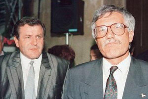 Vladimír Mečiar a Václav Klaus.