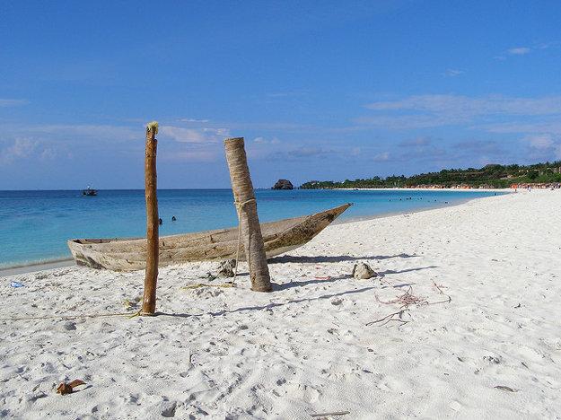 Na Zanzibare má more zvláštnu moc.
