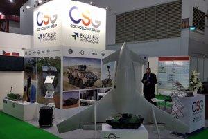 Predstavenie dronov CANTAS na výstave Indodefence.