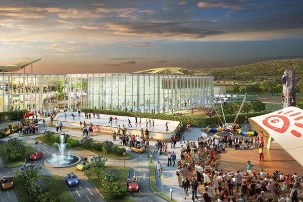 Otvorenie Bory Mall Bratislava pocíti, hoci sa nachádza takmer v extraviláne.
