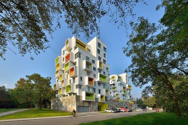 Spolu 72 bytov v petržalskom projekte Nový háj sa podarilo predať ešte pred kolaudáciou.