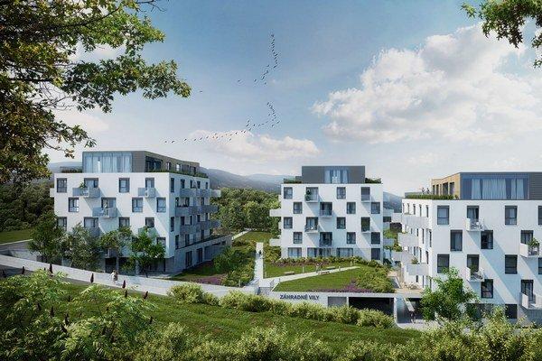 Budovy budú mať štyri nadzemné podlažia a jedno ustúpené strešné podlažie.