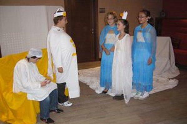 Malí herci ponúkli divákom haluškový príbeh.