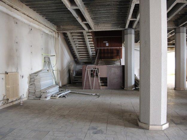 Stavebné práce budú prebiehať ešte niekoľko mesiacov.