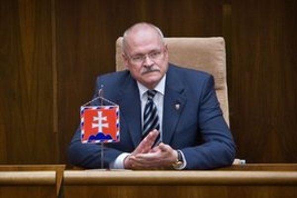 Prezident Ivan Gašparovič.