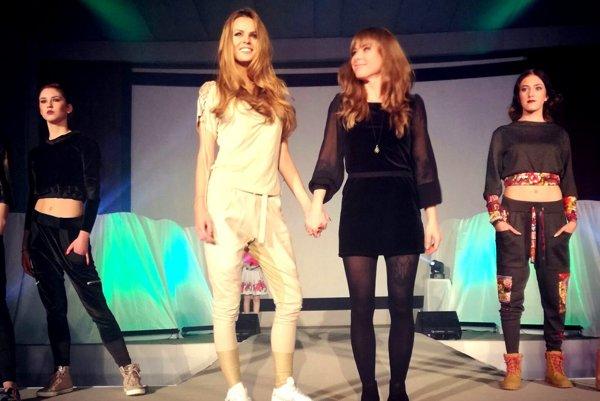 Modelky predvádzali odevy mladých návrhárov z hornej Nitry.
