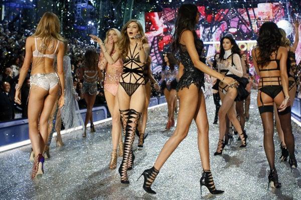 Módna prehliadka Victoria's Secret.