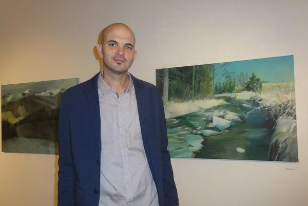 Peter Pauko vystavuje v Salóne Nitrianskej galérie.