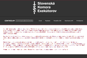 Centrálny register exekúcií je už na internete a sú v ňom všetky neskončené exekúcie.