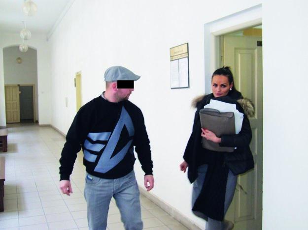 František B. (s obhajkyňou) bol v kauze zo silvestrovskej noci už odsúdený.