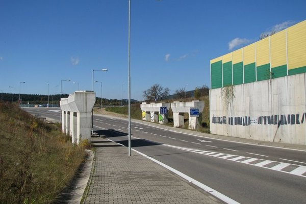 Na toto miesto by mal diaľničný privádzač už o dva roky priviesť dopravu z diaľnice D1.