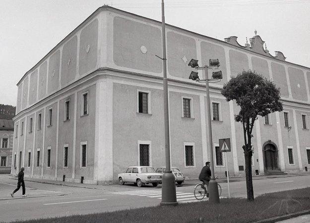 Vzhľad lýcea po obnove v roku 1974.