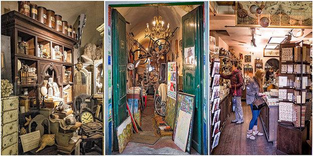 Vo Florencii nájdete pôvabné obchodíky s umením.