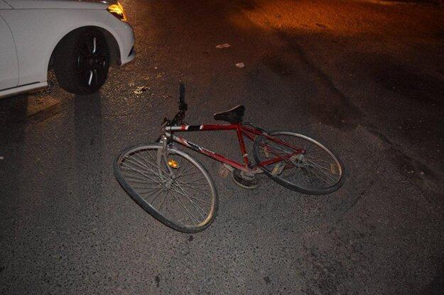 Nehoda v Dunajskej Strede.