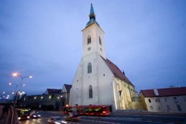 Dóm sv. Martina v Bratislave.
