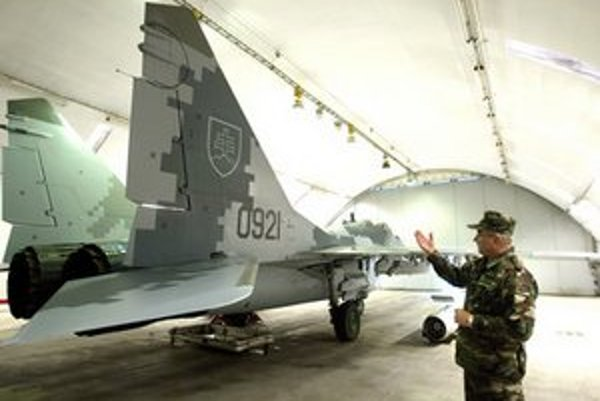 Digitálne maskovanie Mig-29.